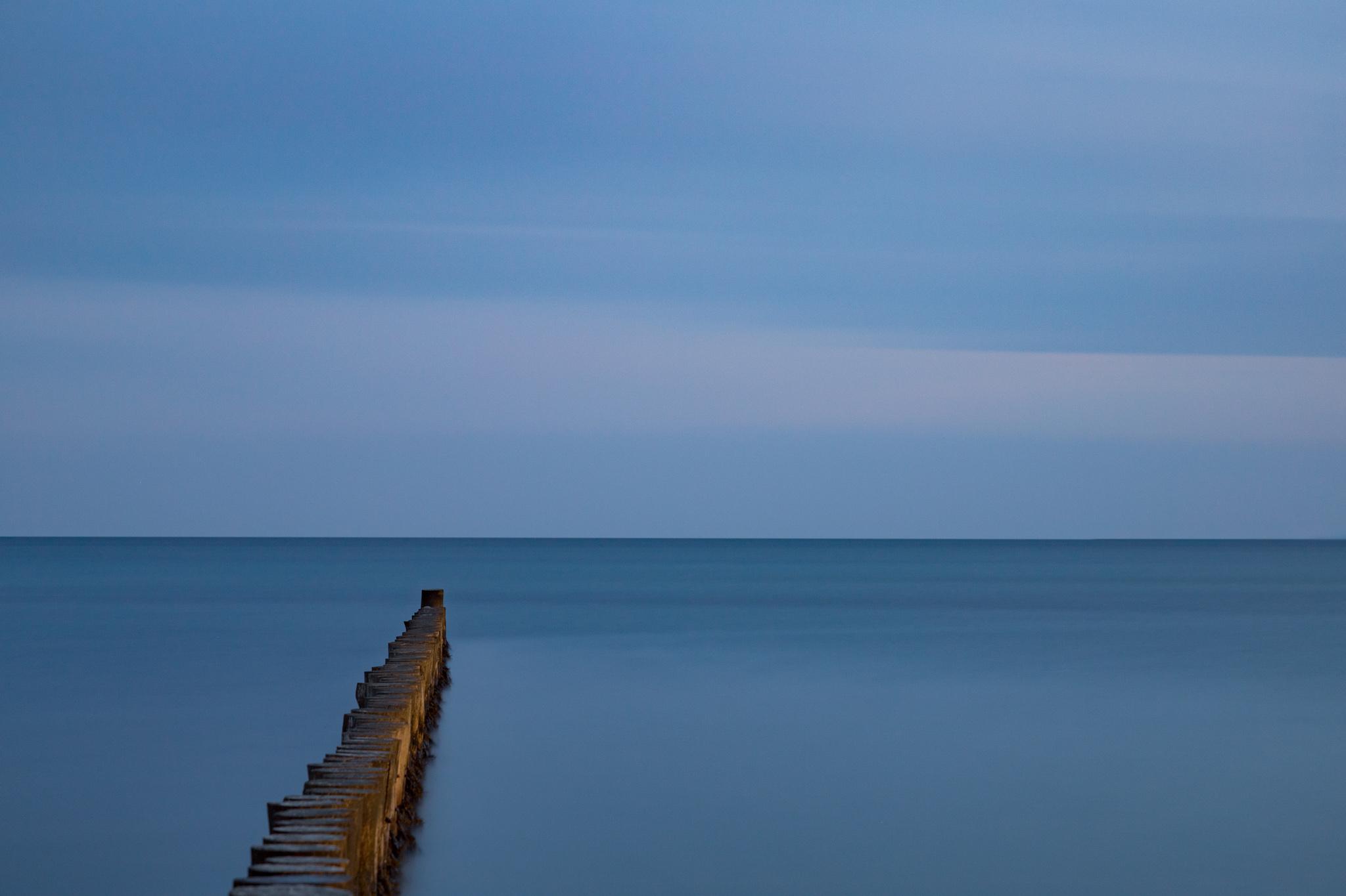Ostseeküste bei Heiligenhafen - Langzeitbelichtung