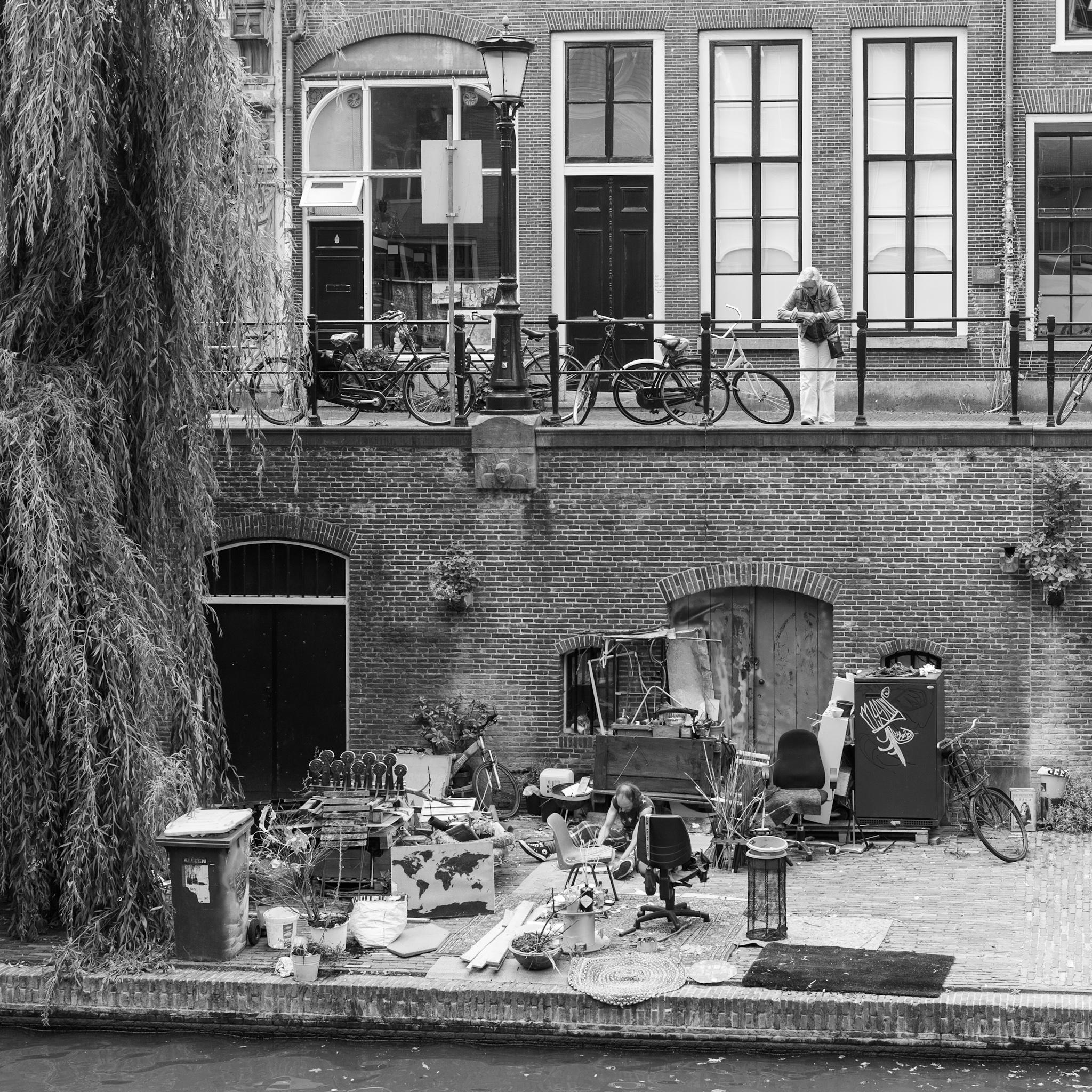 An der Gracht in Utrecht